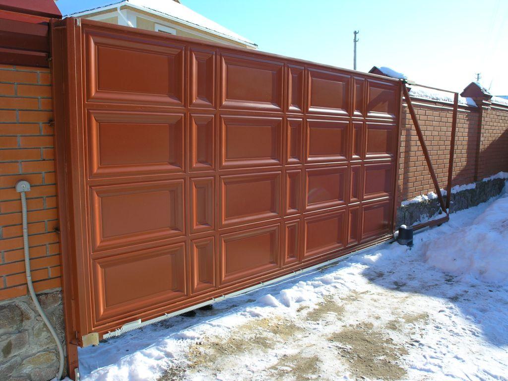 Фото Изготовление и установка ворот гаражных, промышленных, въездных 3