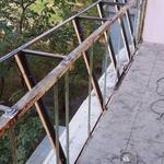 Вынос балкона, решетки