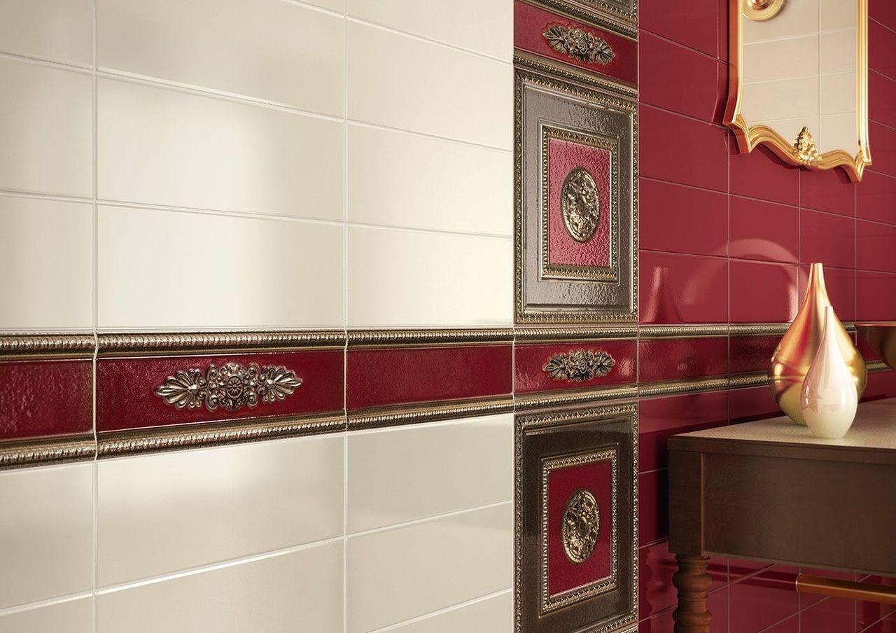 Фото Укладка керамической плитки в ванной комнате. Потрачено 6 дней