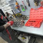 Капитальный ремонт ДВС, снятие и установка двигателя. Замена прокладки гбц