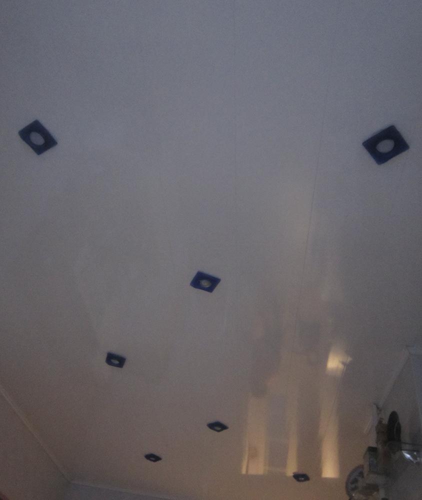 Фото Монтаж дополнительных светильников