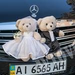 Аренда украшений для свадебной машины