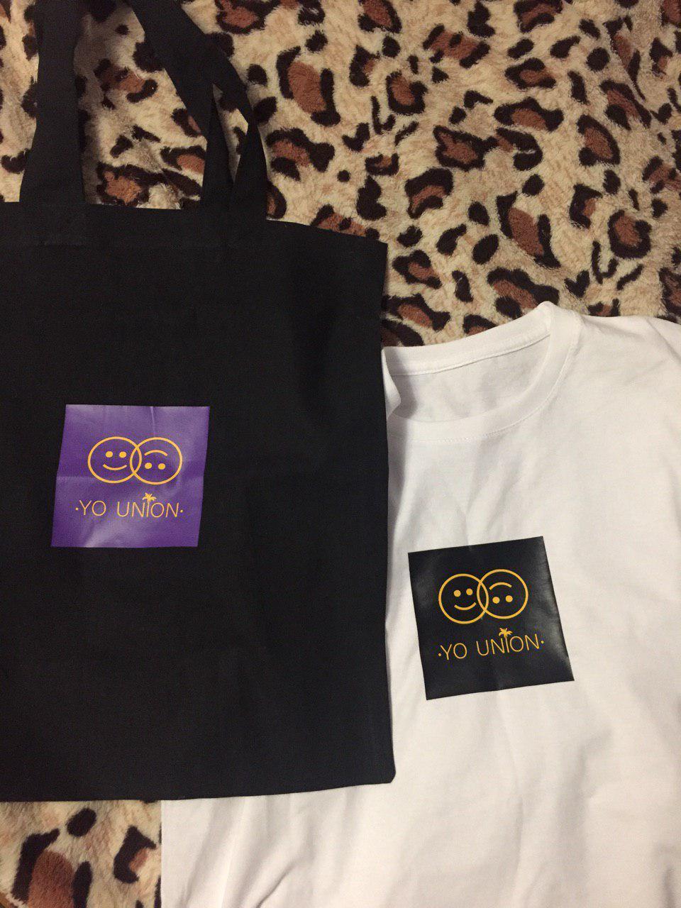 Фото Печать на сумке и футболке
