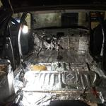 Вибро шумоизоляция автомобиля
