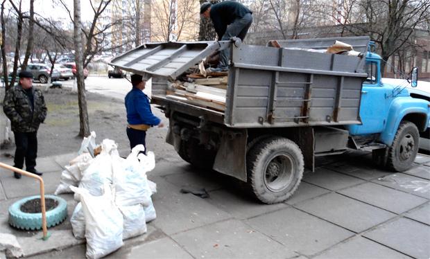 Фото Вывоз строительного мусора Харьков. 1