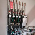 отопление под ключ,тёплый пол,установка гребёнок теплого пола,установка радиаторов отопления и их замена.Установка тепле
