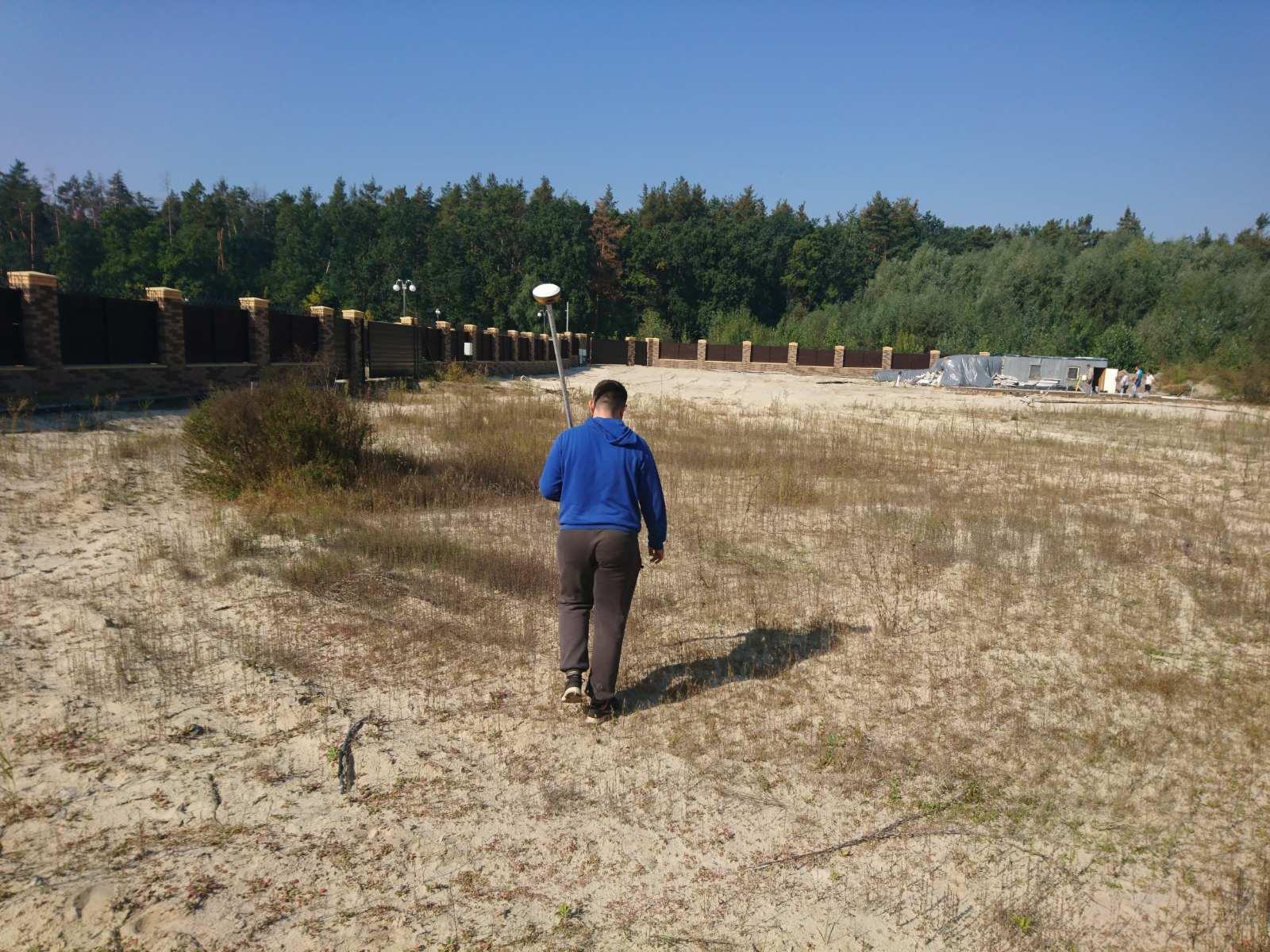 Фото Границы, вынос границ участка, межевание, отбить границы, закрепление границ земельного участка 3