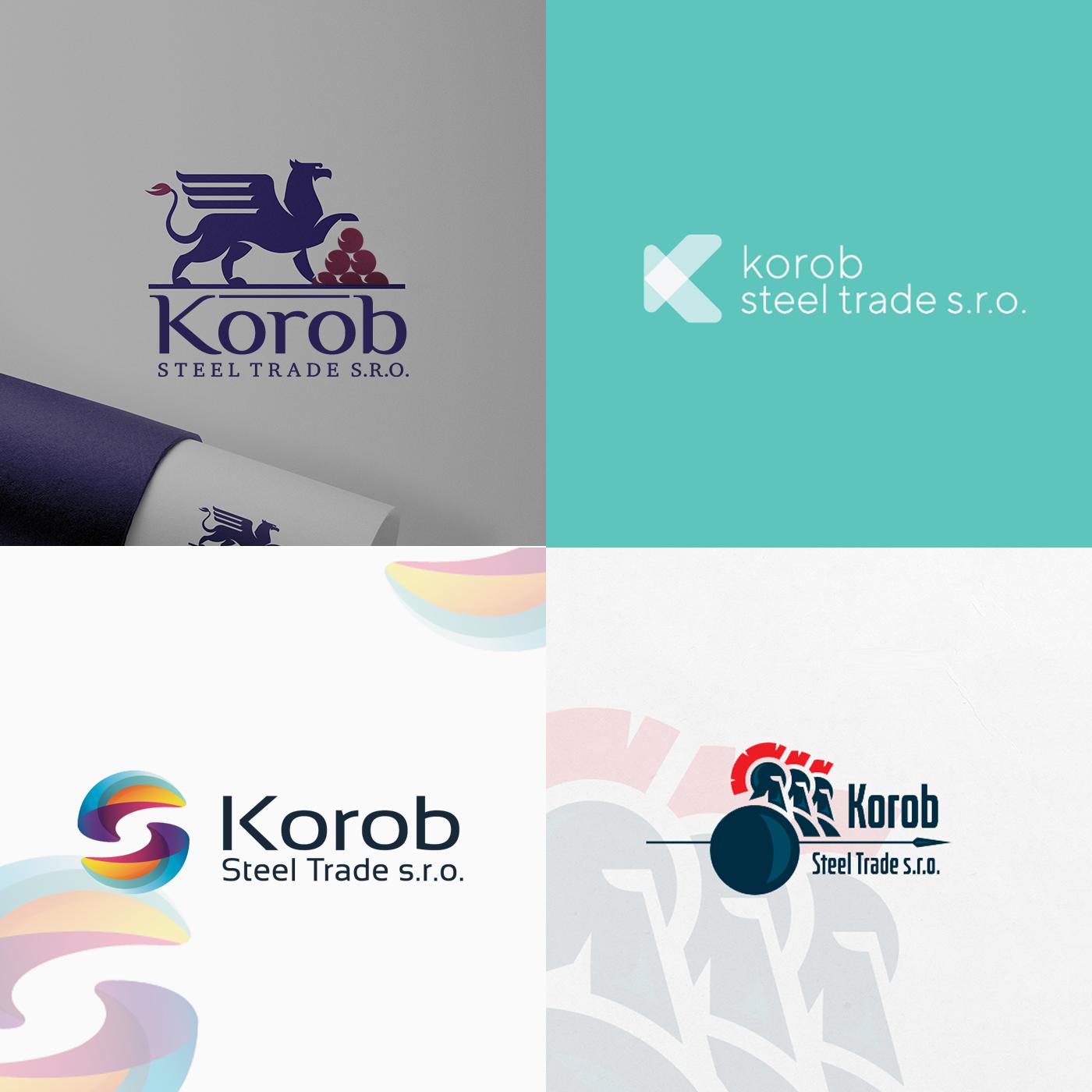 Фото Логотип для продавца металлоизделий Korob Steel Trade s.r.o.