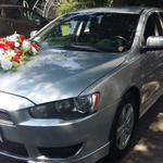 Прокат свадебного автомобиля Mitsubishi LANSER X Акция Черкассы и область.