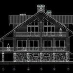 Архитектурное проектирование жилого дома