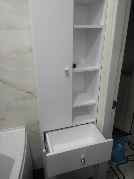 Фото Шкаф в ванную с влагостойкого материала