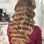 Накрутка/укладка волос