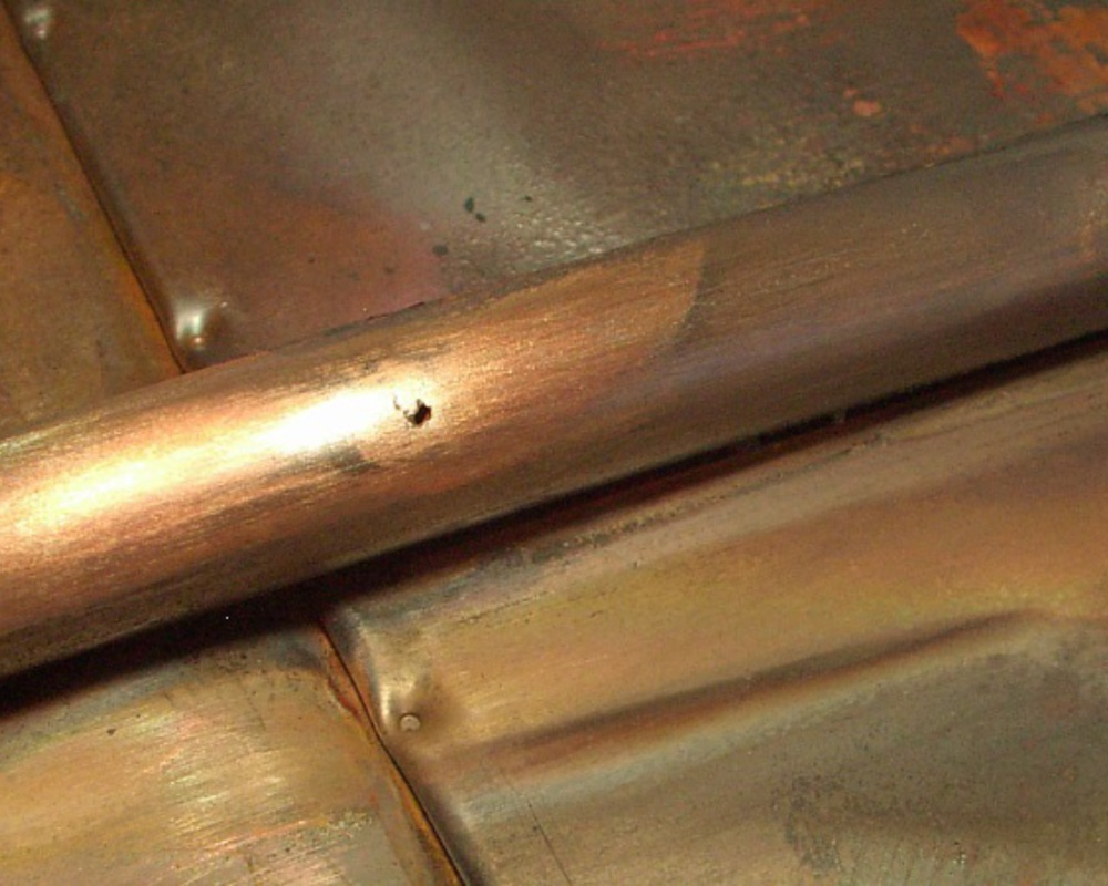 Фото Пайка теплообменников газовых котлов и колонок 1