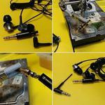 Ремонт наушников Sony. Замена штекера джек 3.5 мм. Бровары.