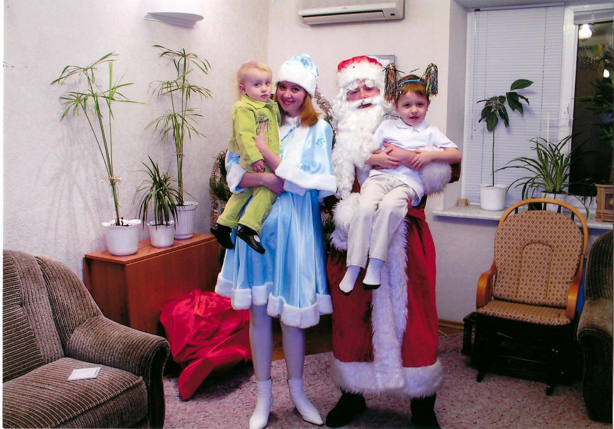 Фото Дед Мороз и Снегурочка для малышей