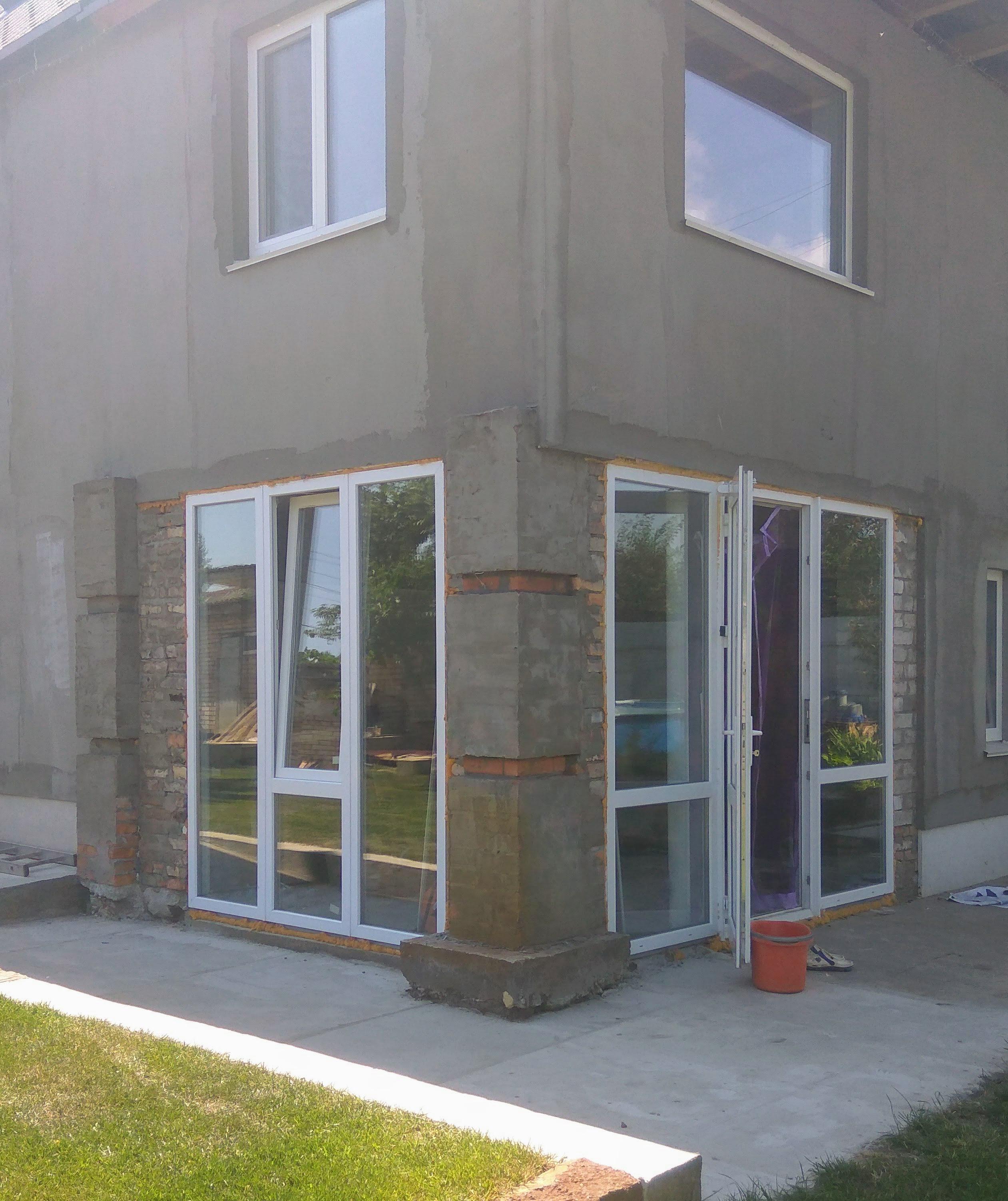 Фото Монтаж б/у конструкций ПВХ. Переделка окна. Отделочные работы. 14 дней.