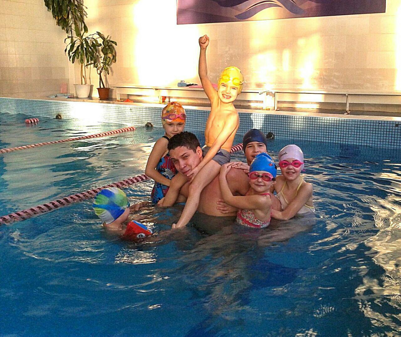 Фото Персональные тренировки по плаванию для детей и взрослых 3
