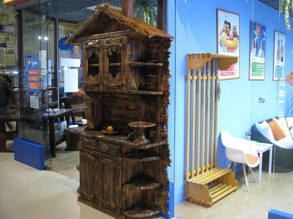 Фото Изготовление вешалок напольных деревянных  1