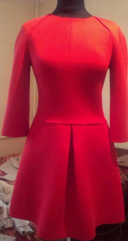 Фото пошив платья