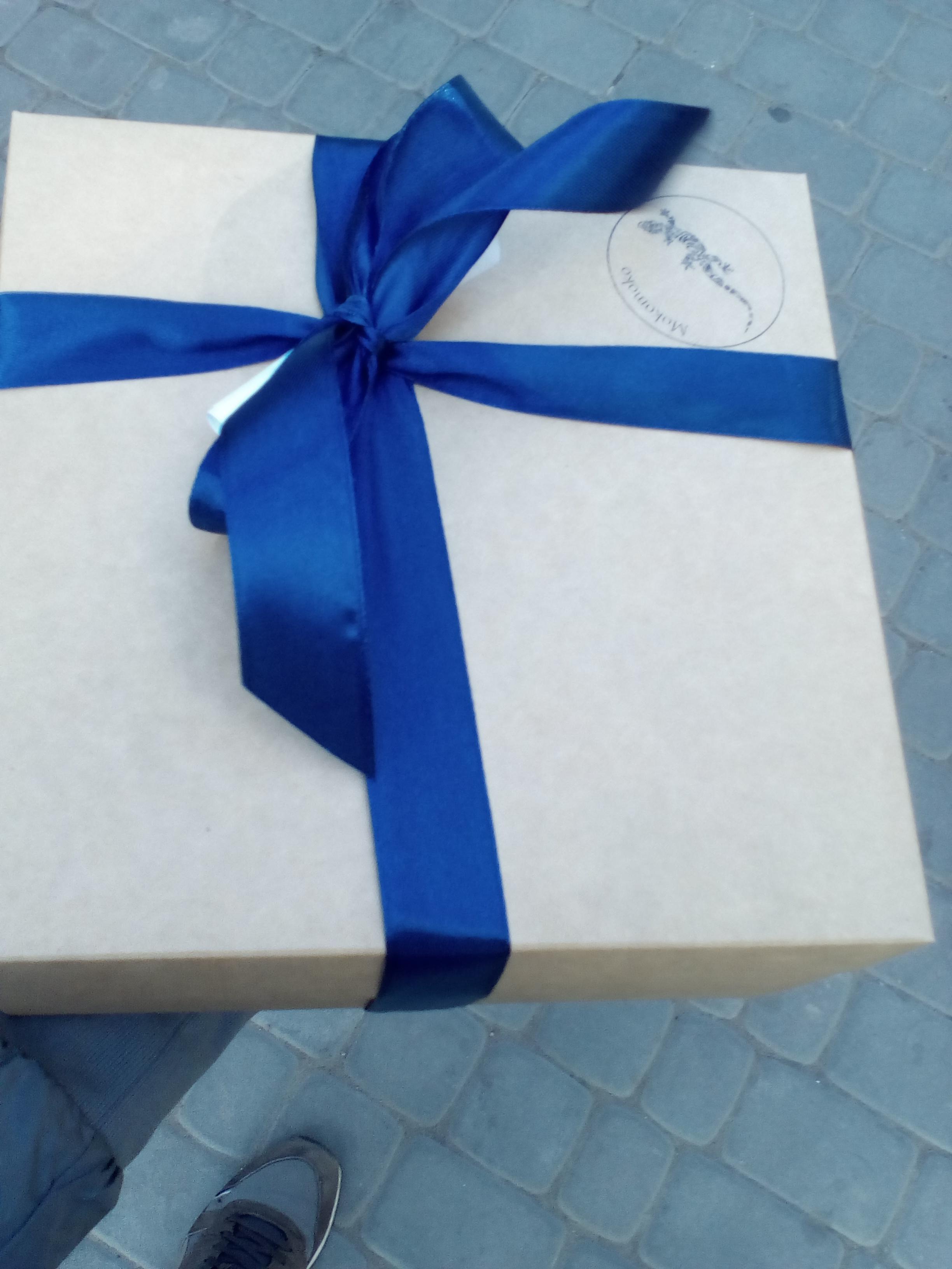 Фото Подарочный набор из сладостей.