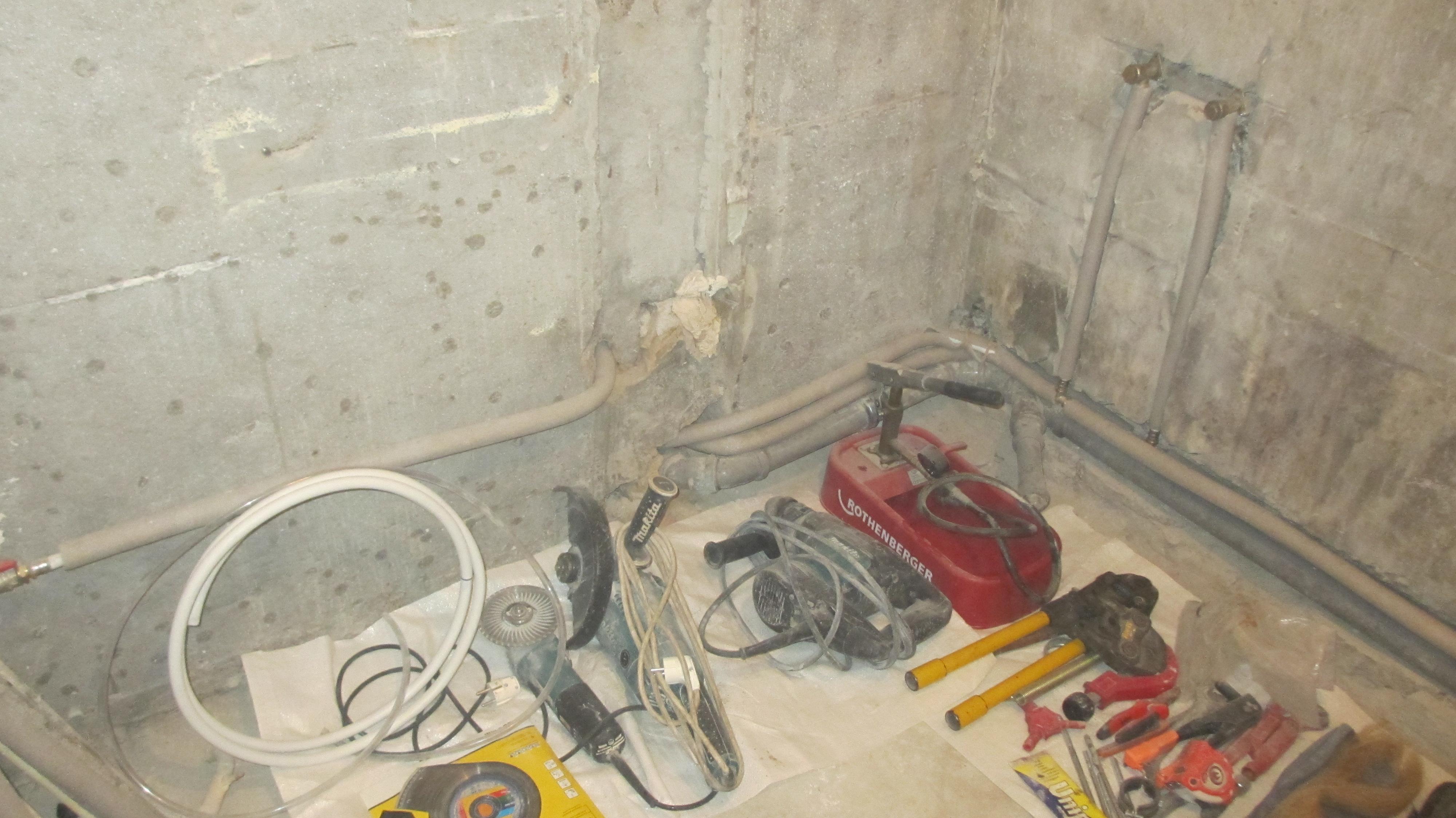 Фото Монтаж, полная или частичная замена водопровода в квартире 2
