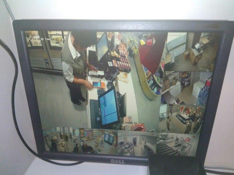 Фото Установка видеонаблюдения в супермаркет