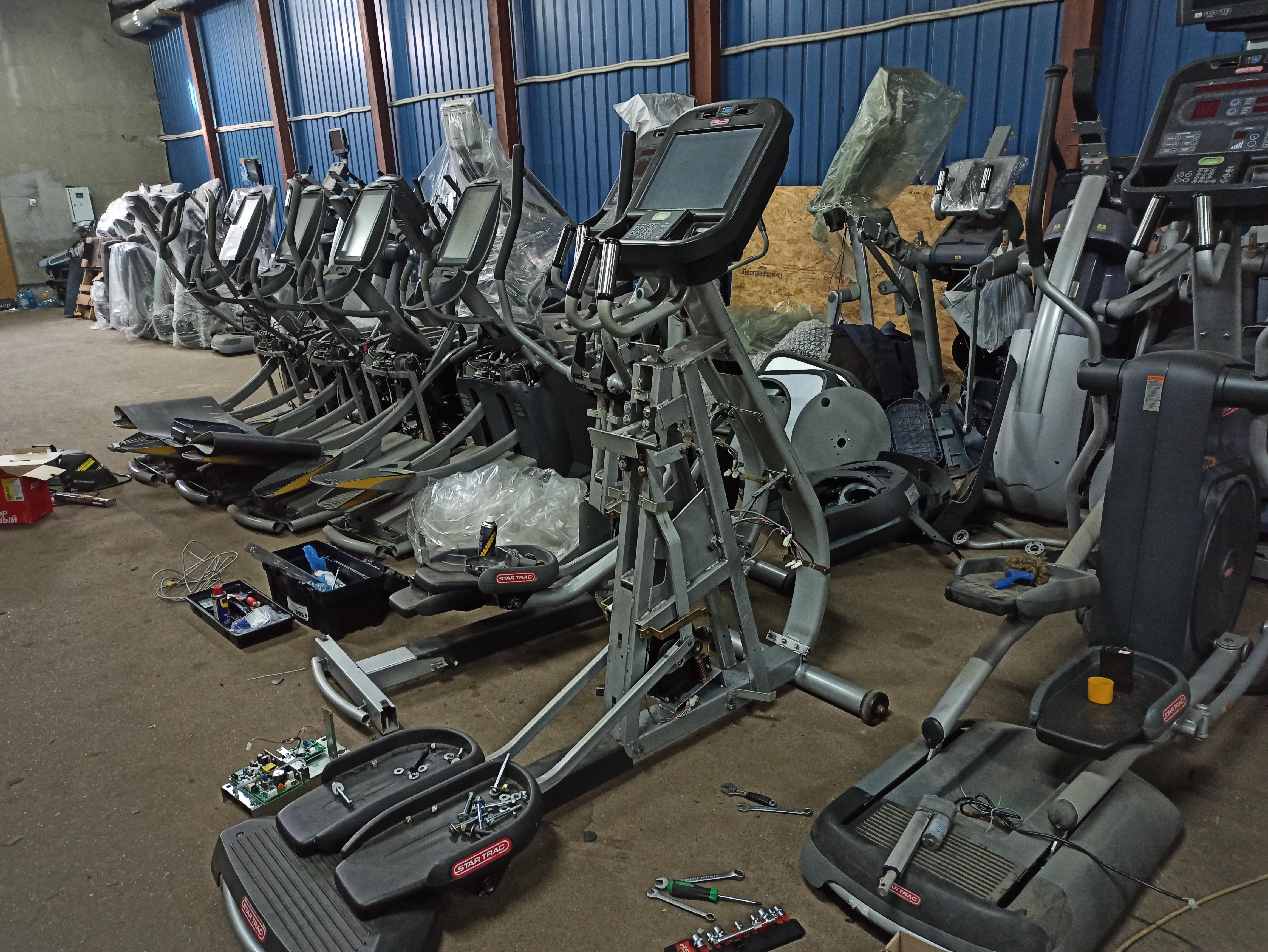 Фото Ремонт и обслуживание тренажеров - беговых дорожек, орбитреков, велотренажеров 1