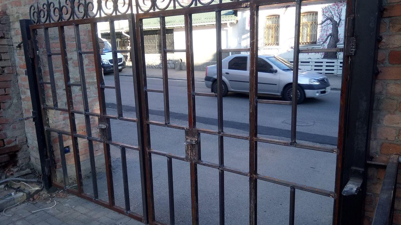 Фото Каркас автоматических ворот