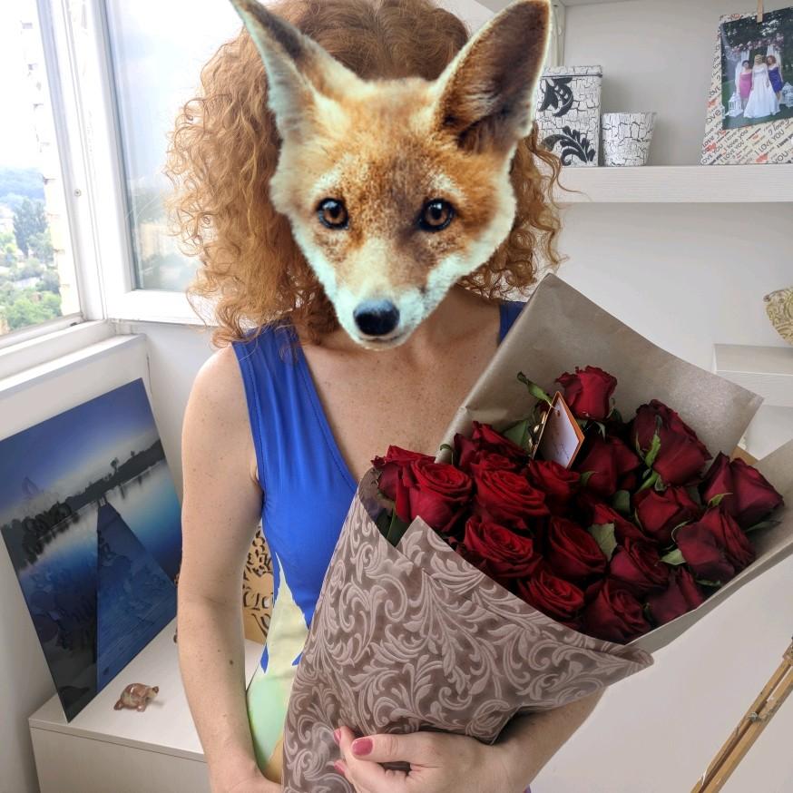 Фото Доставка цветов:))🌹