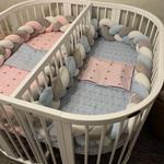Быстро и качественно :пошив одежды, постельное белье, детские бортики и косички в кроватку.