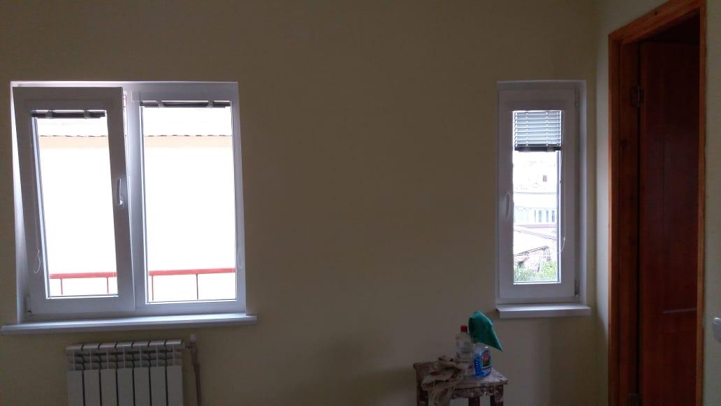 Фото Окна после строителей , очистка от эмульсионноц краски и ленты , мойка начисто