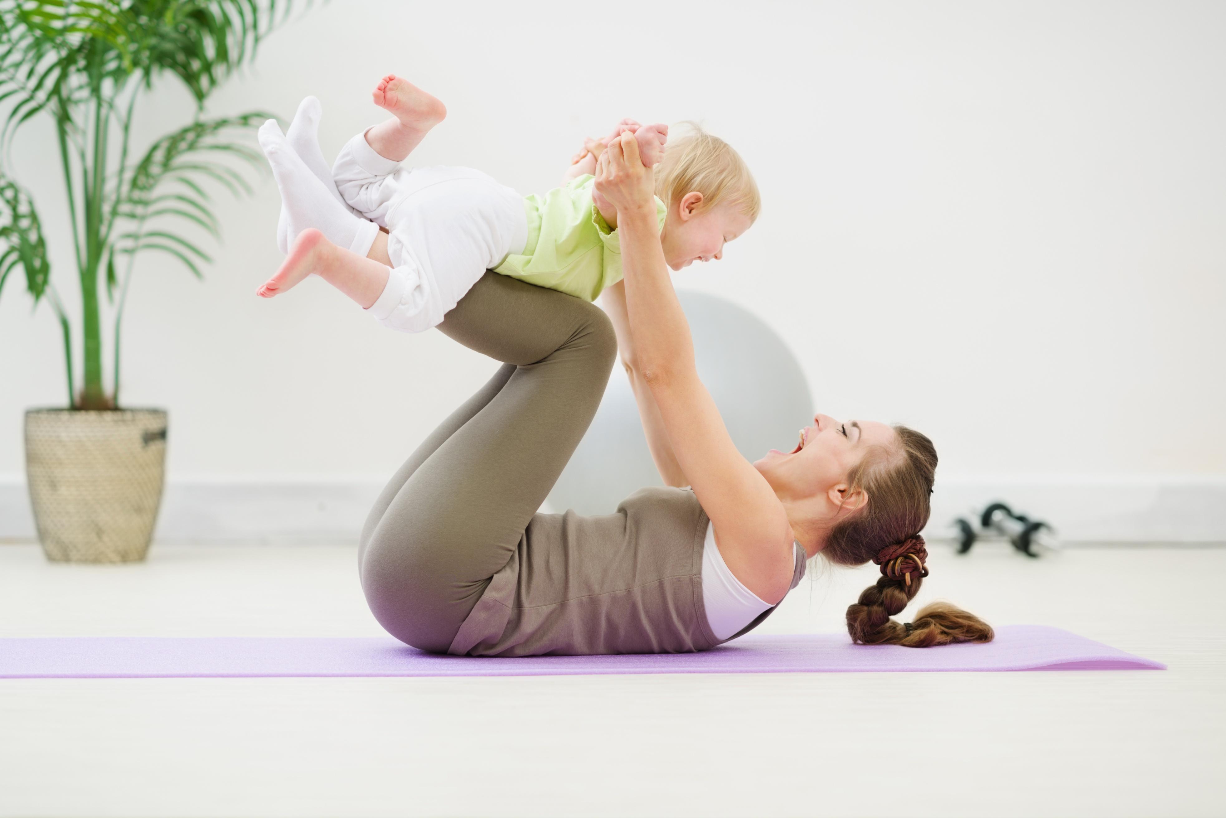 Мама фитнес картинки