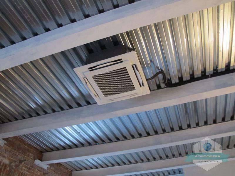 Фото Проведение монтажных работ с вентиляции и кондиционеров в одном из ресторанов в центре города Днепр.