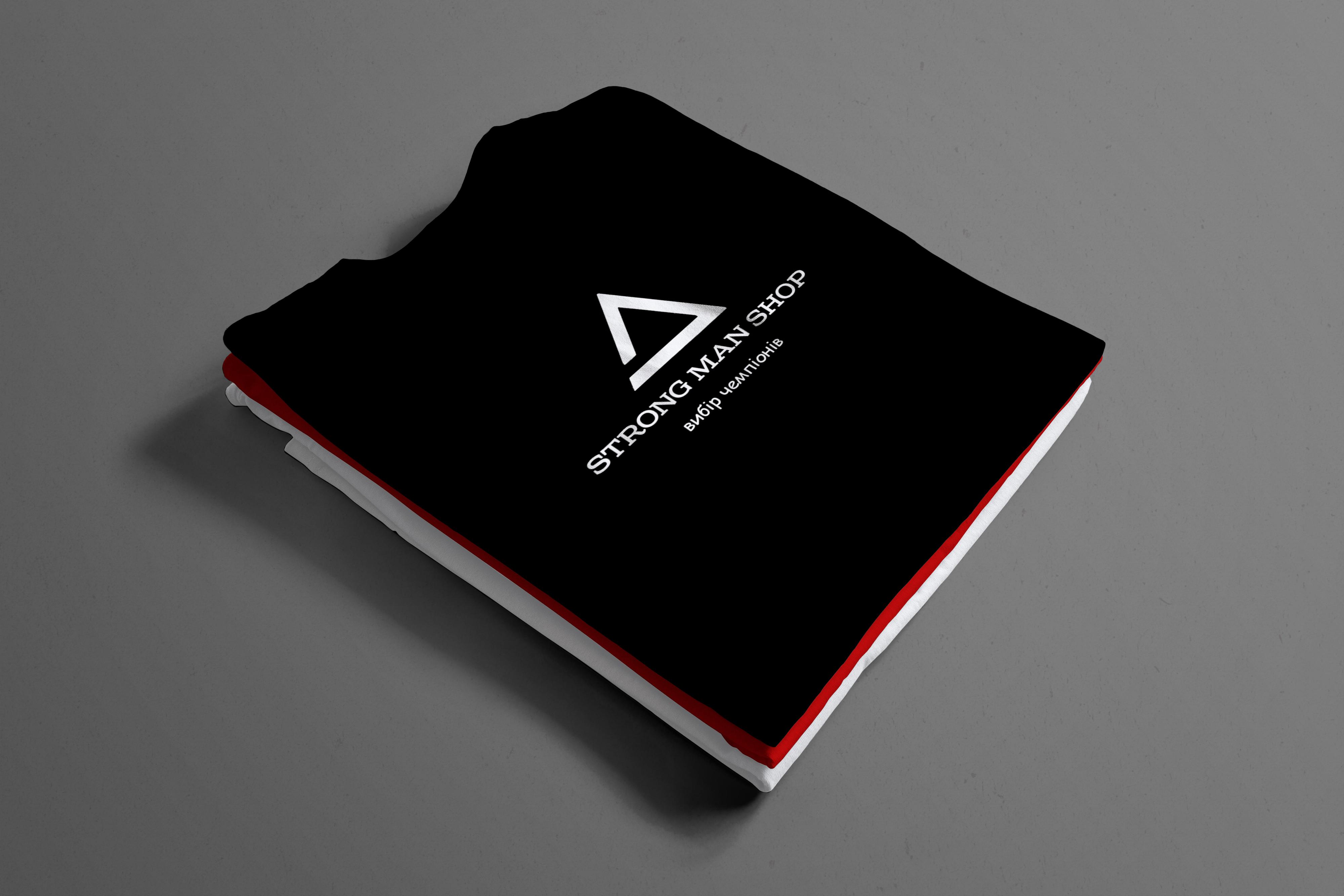 Фото Разработка логотипа для спортивного магазина (Instagram) STRONG MAN SHOP Среда разработки: Adobe Photoshop Время работы: ~1.5 часа