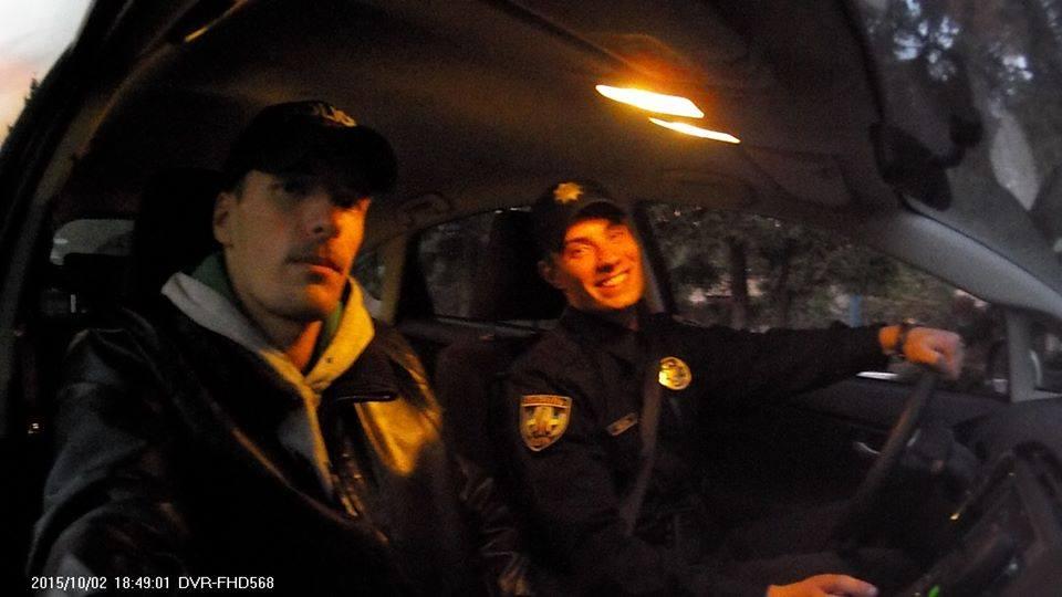 Фото Обучение вождению Киевской патрульной полиции 2015 год