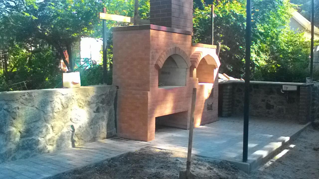 Фото построим барбекю, камин, мангал,печь. 4
