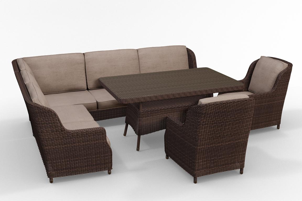 Фото Мебель из ротанга 3D