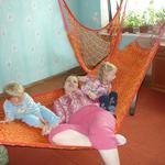 Изготавливаю гамаки, подвесные кресла, подвесные кровати, подвесные этажи