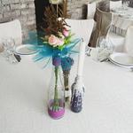 Украшения на свадебные столы