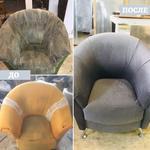 Профессиональная перетяжка, ремонт, реставрация мебели