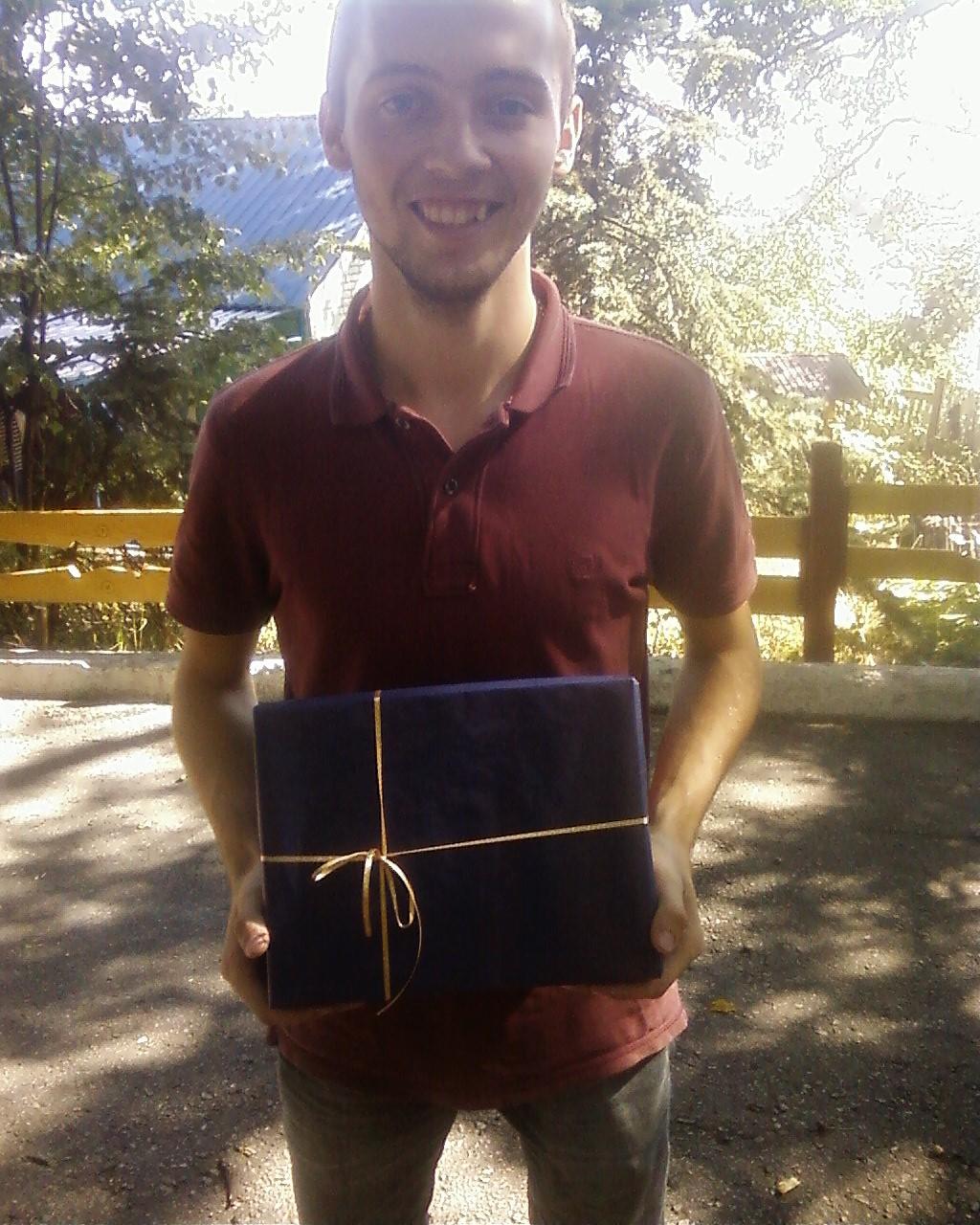 Фото Доставка подарка в пригород.