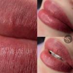 Пудровые брови, акварельные  губы, межресничка - натурально