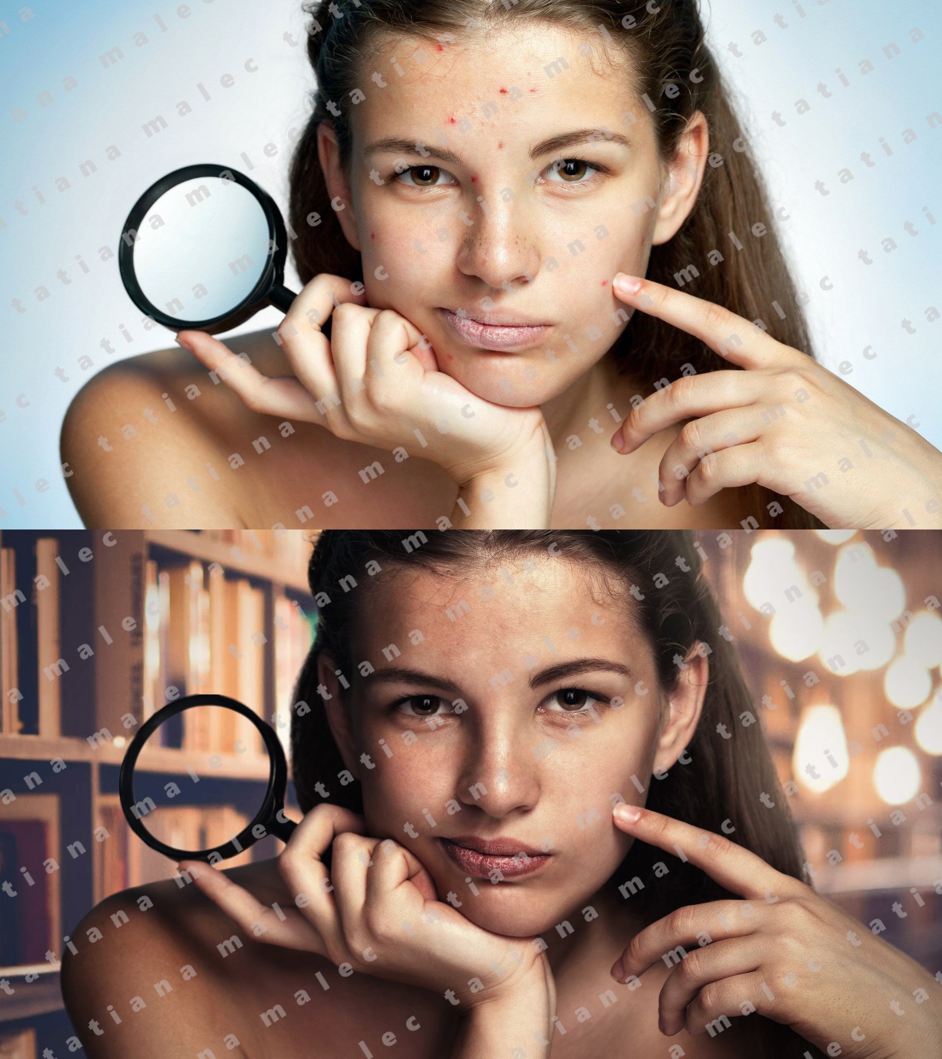 фоторедактор для удаления дефектов кожи кому-то