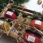 Подарочный набор №7 из 4 баночек крем-меда по 100мл на 8 марта
