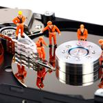Востановление данных с жестких дисков и флеш-накопителей.