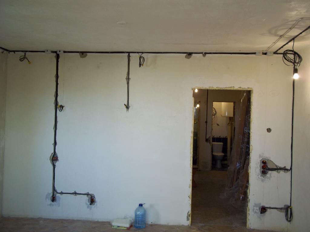 Фото Монтаж проводки в квартире под ключ 2 комнатная квартира
