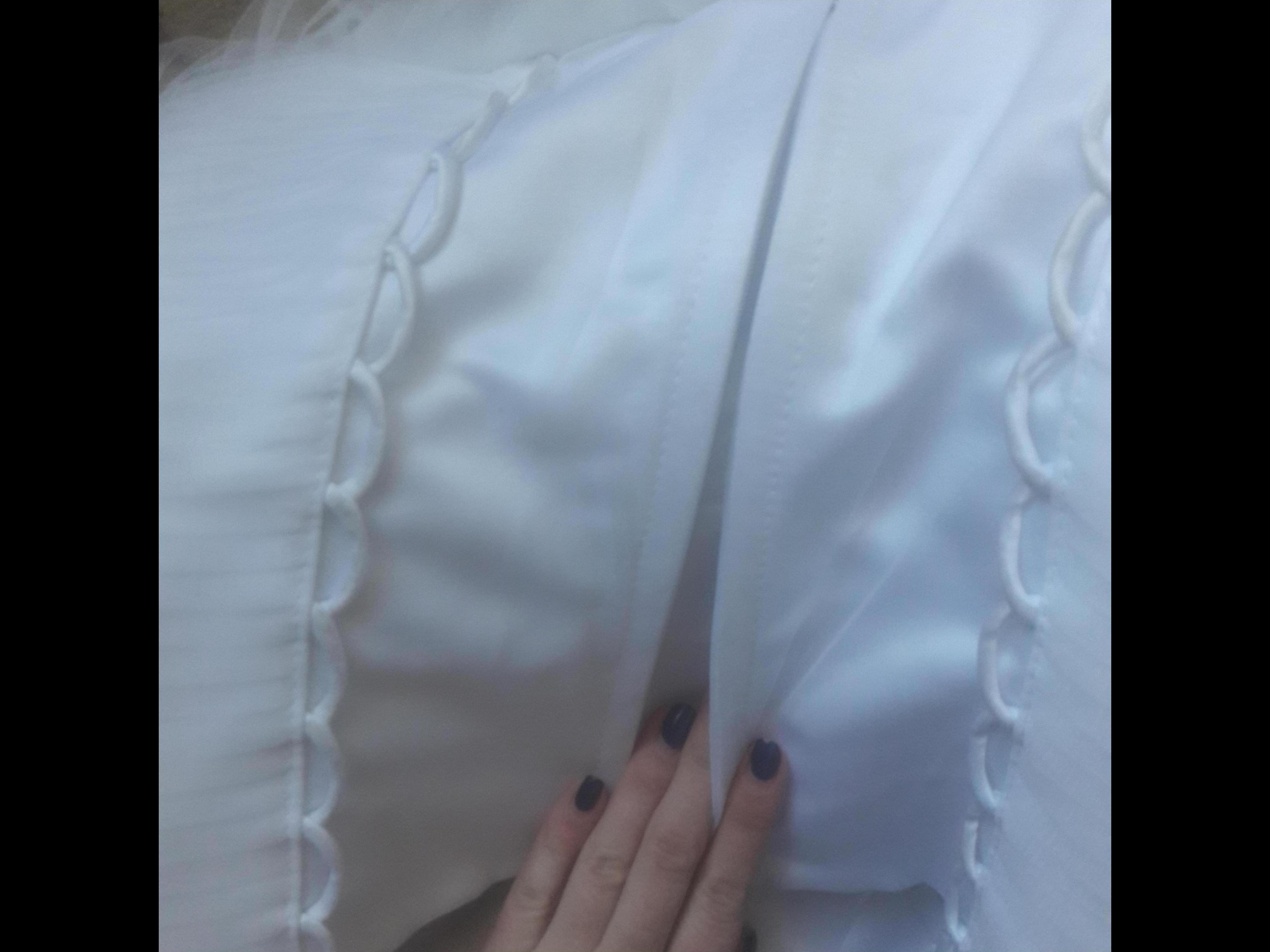 Фото Чистка свадебного платья без химии,без глажки,было готово через 4 часа