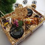 Подарочный набор №6 из 3 баночек меда с ягодами Годжи для Влюбленных