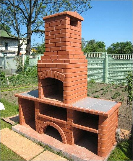 Фото построим барбекю, камин, мангал,печь. 5