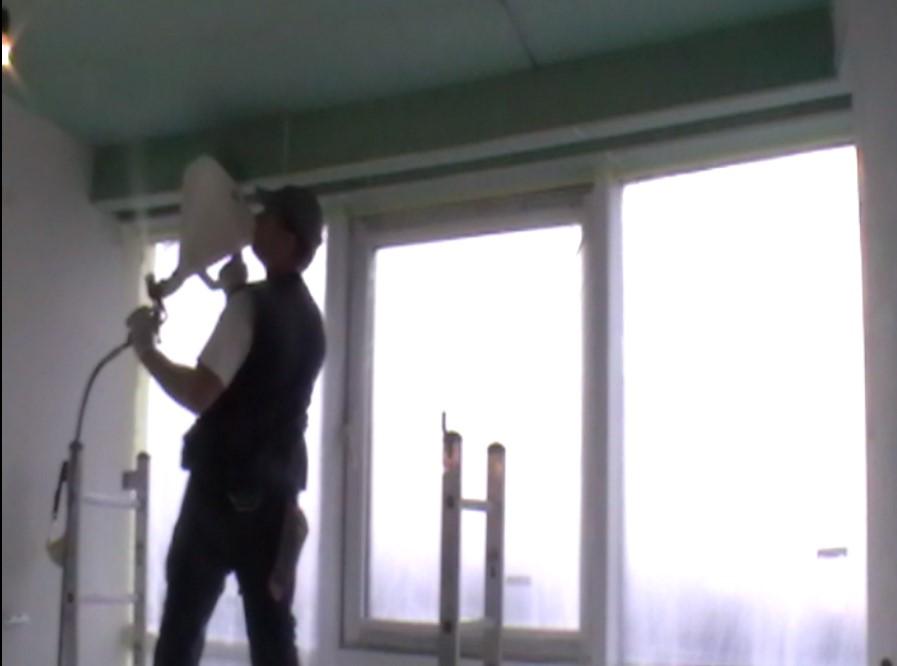 Фото Шпаклёвка воздушного нанесения. В 3 раза быстрее! От 70 грн./ М.кв. 1
